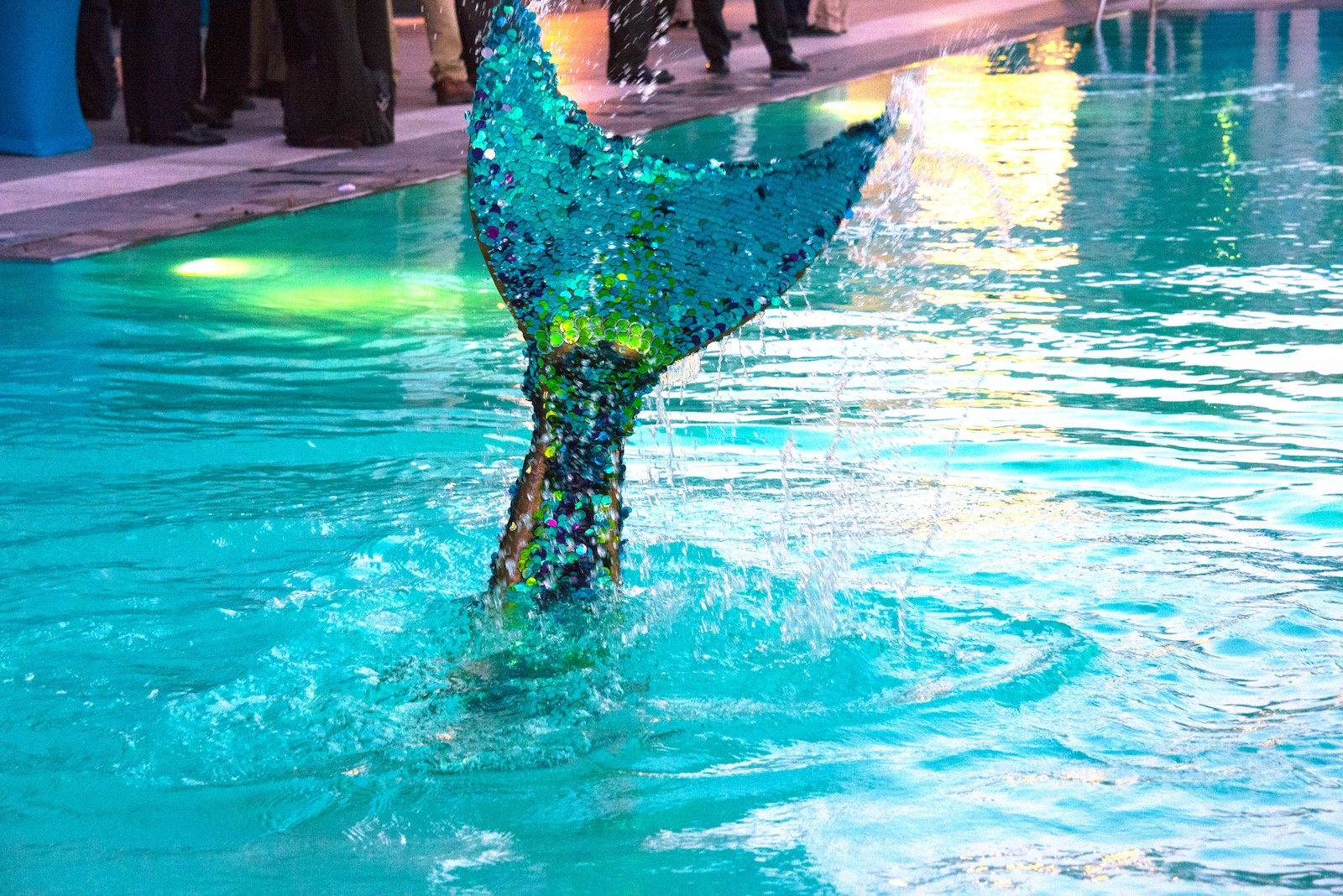 Bar Mitzvah & Bat Mitzvah Ideas Mermaid Photo Booth Performer Entertainment Los Angeles Photo | Linden Wolbert | Mermaids in Motion